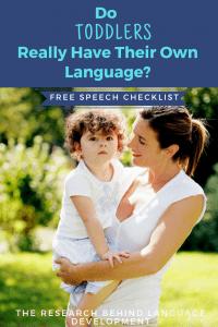 toddler language