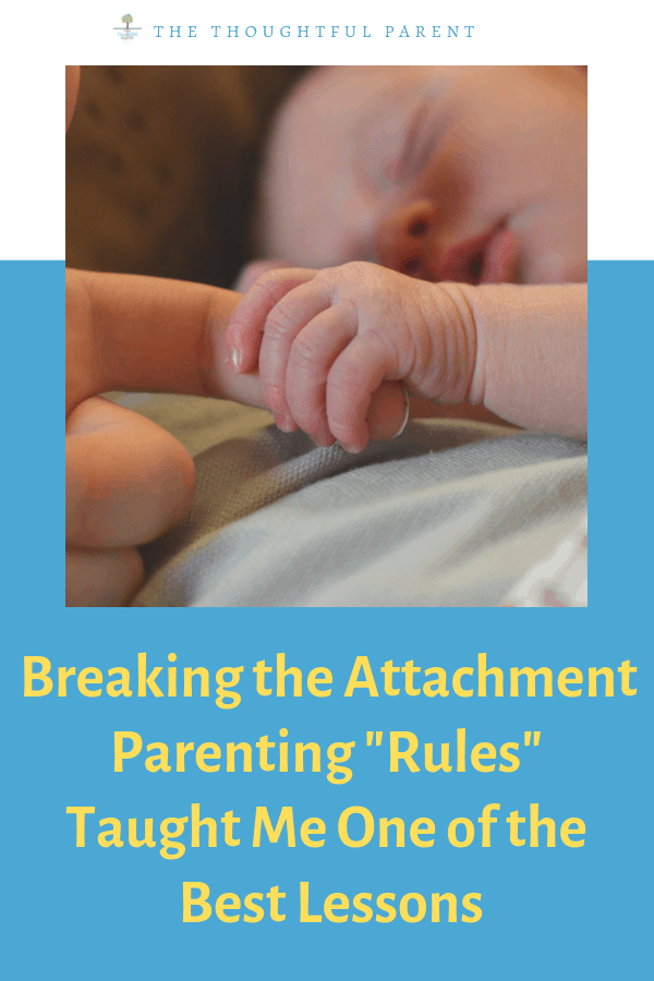 attachment parenting rules