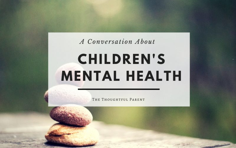 A Conversation About Children's Mental Health