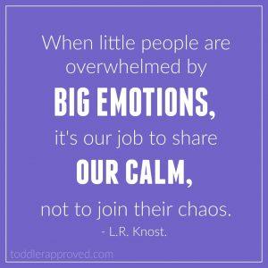 little kids big emotions