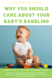 baby babbling
