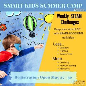 smart kids summer camp