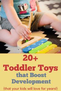 best toys for toddler development
