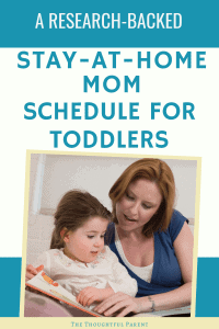 stay at home mom schedule for 3 year old