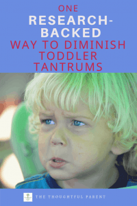 how to handle tantrums