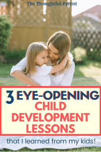 How does child rearing affect child development?