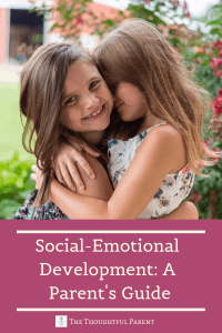 what is social emotional development